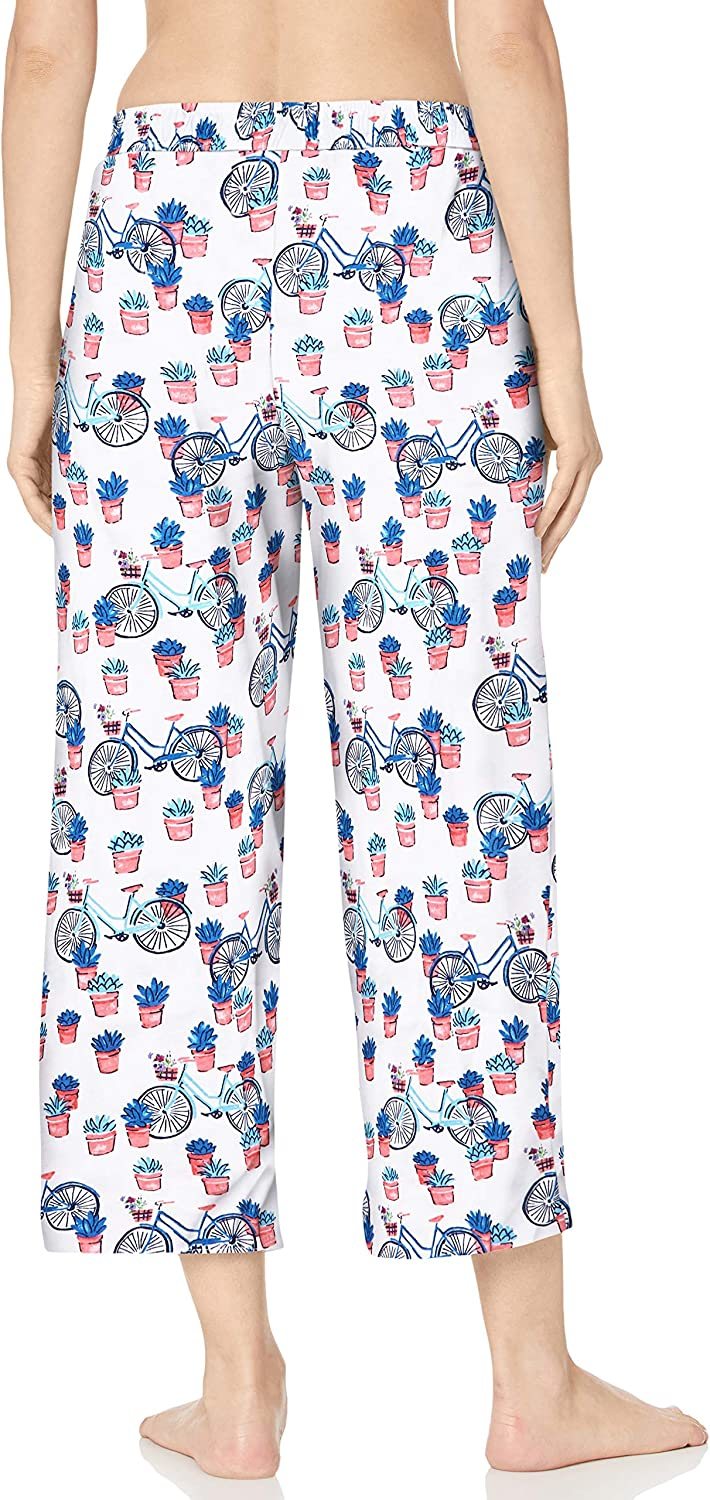 Karen Neuburger Womens Pajamas Cropped Capri Pj Pant Pajama Bottom