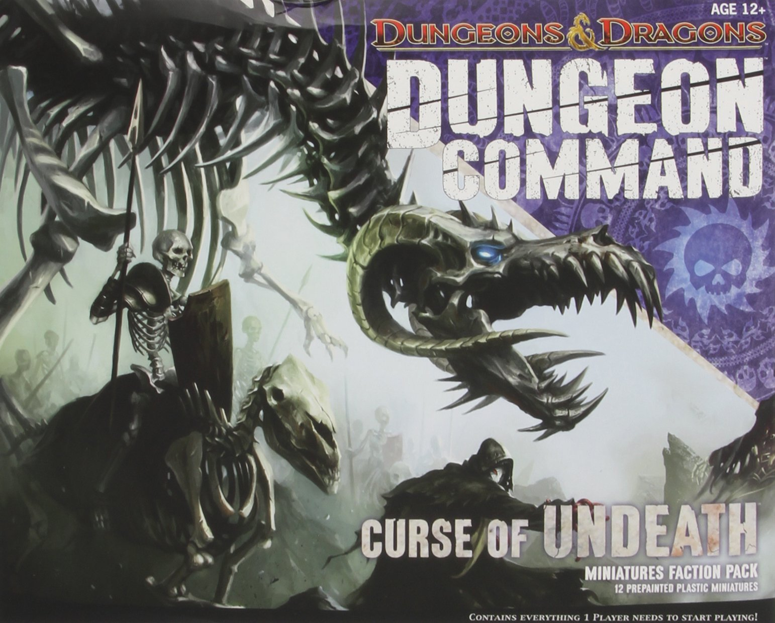 Dungeon Command: Curse of Undeath: A Dungeons & Dragons Expansion Pack Dungeons and Dragons: Amazon.es: Wizards RPG Team: Libros en idiomas extranjeros