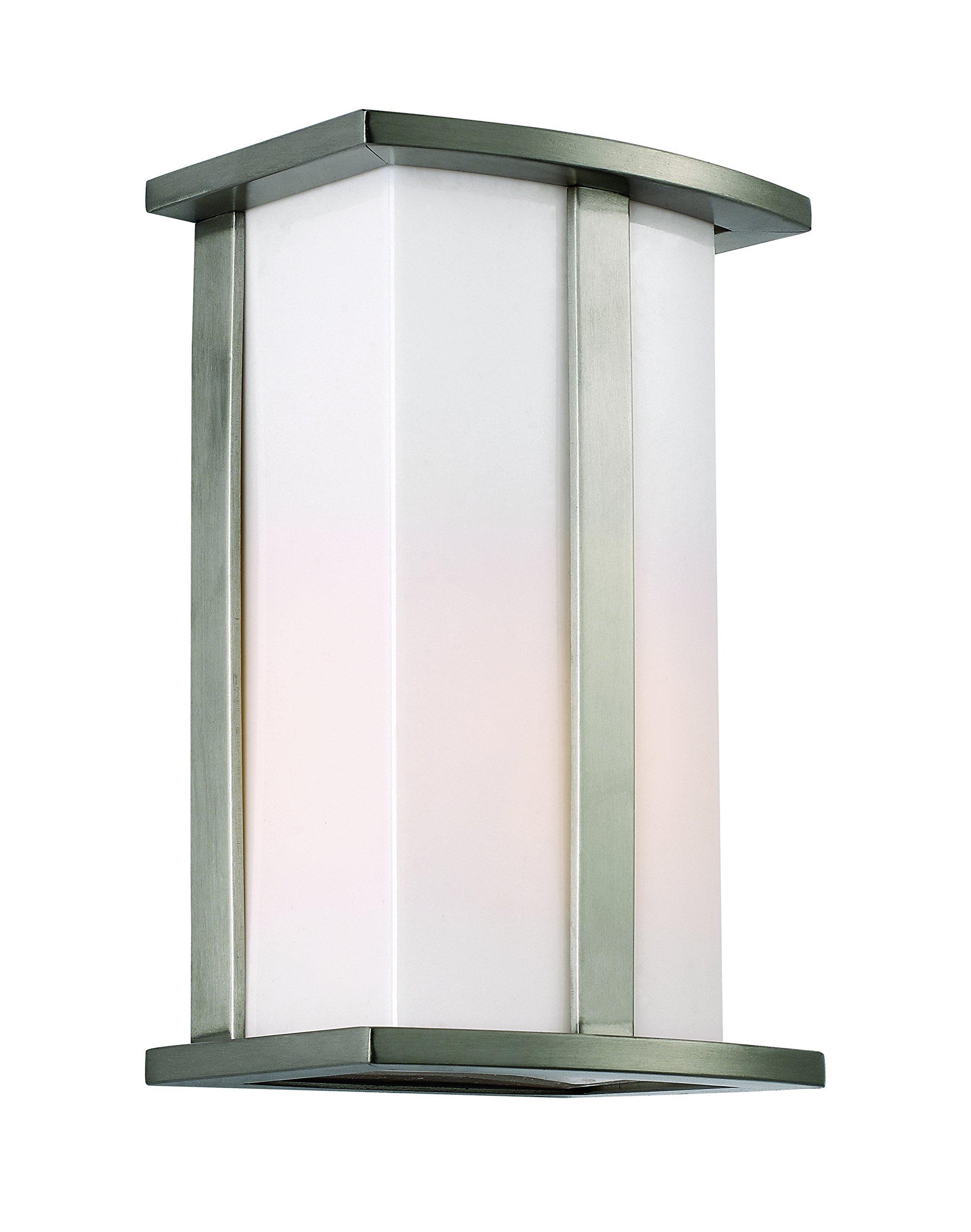 Trans Globe Lighting 40290 ST Outdoor Chime 10'' Pocket Lantern, Steel