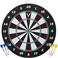 Viper Double Play 2-in-1 Baseball Dartboard with Darts