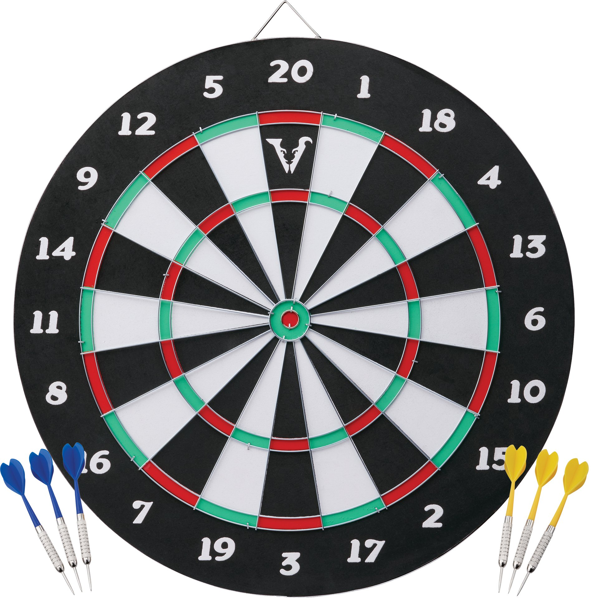 Viper Double Play 2-in-1 Baseball Dartboard with Darts by Viper by GLD Products