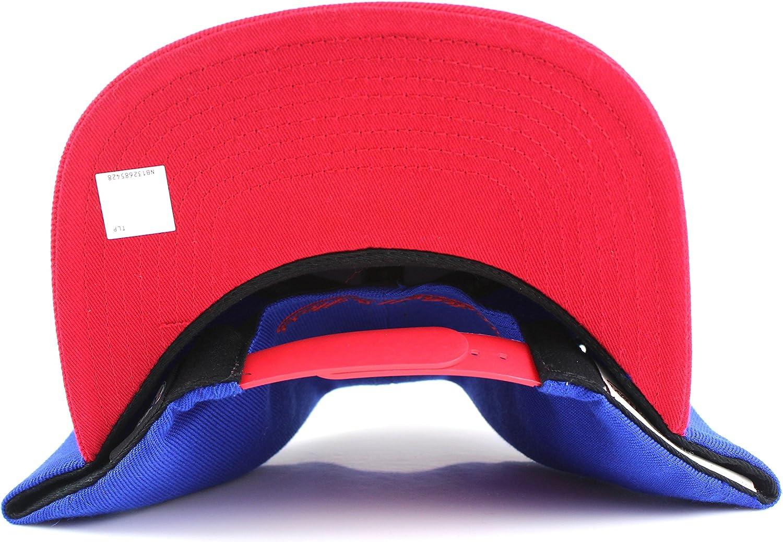 Mitchell /& Ness Philadelphia 76ers NBA 2Tone Cropped Tonal Logo Adjustable Snapback Hat