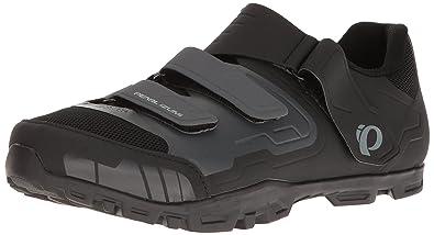 Pearl iZUMi Men's All-Road V4 Cycling Shoe, Black/Shadow Grey, 39