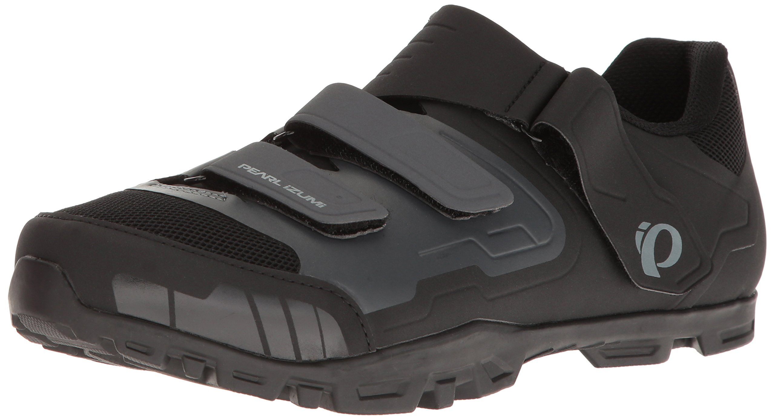 Pearl iZUMi Men's All-Road V4 Cycling Shoe, Black/Shadow Grey, 47 D EU by Pearl iZUMi