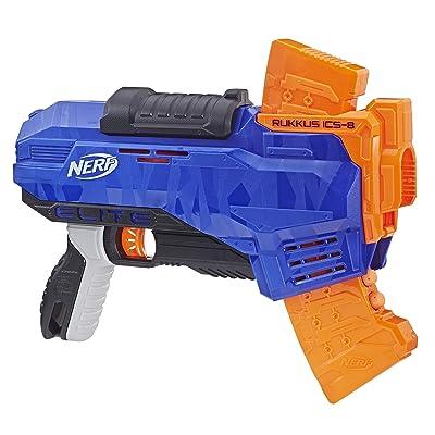 NERF E2654EU5 N-Strike Elite Rukkus ICS-8, Multi-Colour: Toys & Games