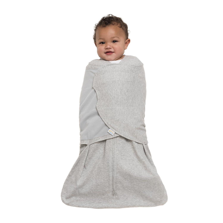 Halo Innovations Sleep Sack Cotton Swaddle, Heather Gray, Small 12401