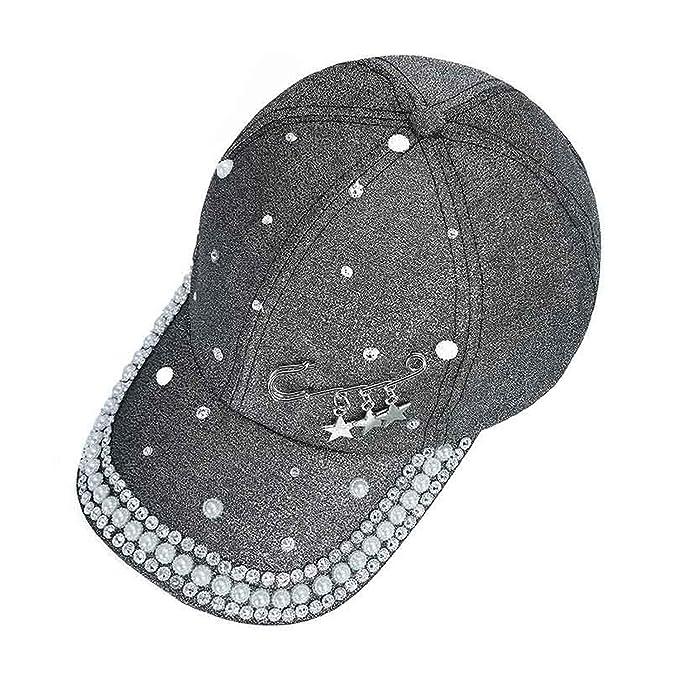 0fef28dbc3cfc 2019 Men s Women s Novelty hat New Cap Custom Desig Rings pin Pattern White  Black Solid Spring Summer caps at Amazon Women s Clothing store