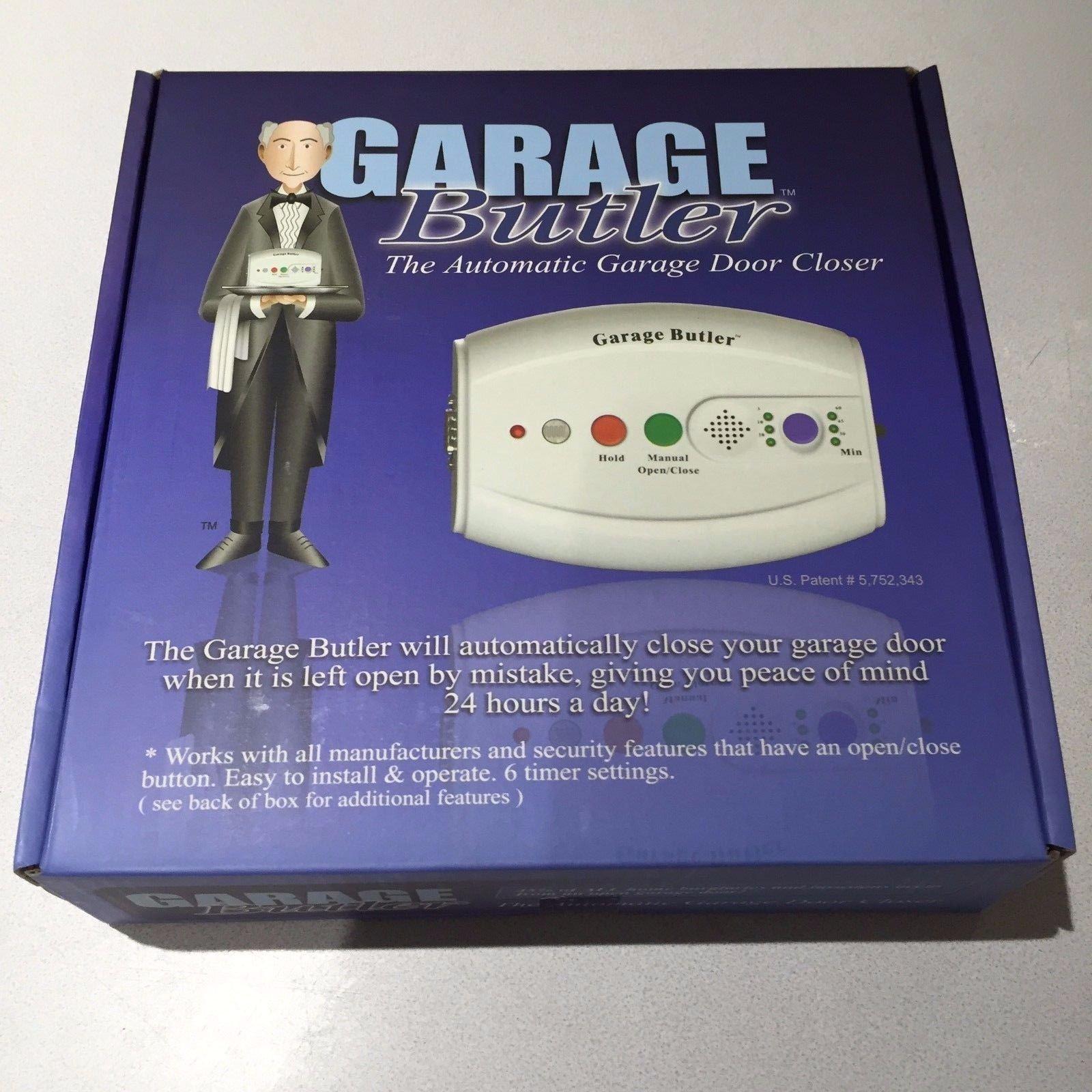 Home Security Garage Butler Automatic Garage Door Closer