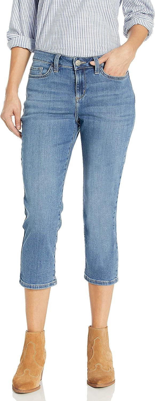 LEE Womens Petite Legendary Regular Fit 5 Pocket Capri Jean