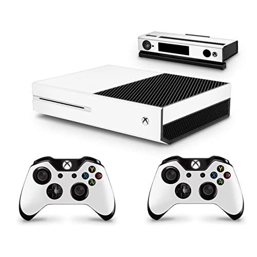 Gizmoz n Gadgetz Xbox One White LOOK Console Skin Decal Sticker + 2 Xbox One Controller Skins & Kinect