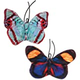 Jackson Galaxy Crinkle Flies-Butterfly for Cats (2 Pack)