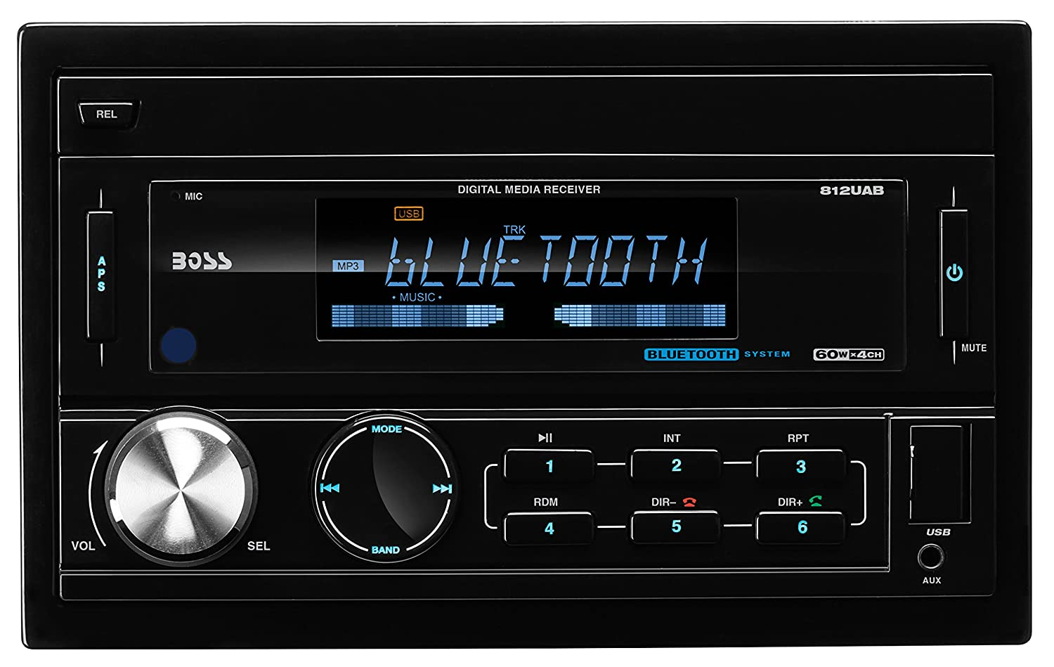 81aSIZsB4SL._SL1500_ amazon com boss audio 812uab double din mech less (no cd or dvd  at crackthecode.co