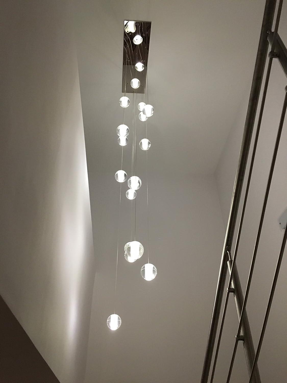 Amazon orion 16 light glass globe rectangular led chandelier amazon orion 16 light glass globe rectangular led chandelier lighting light cell phones accessories aloadofball Gallery