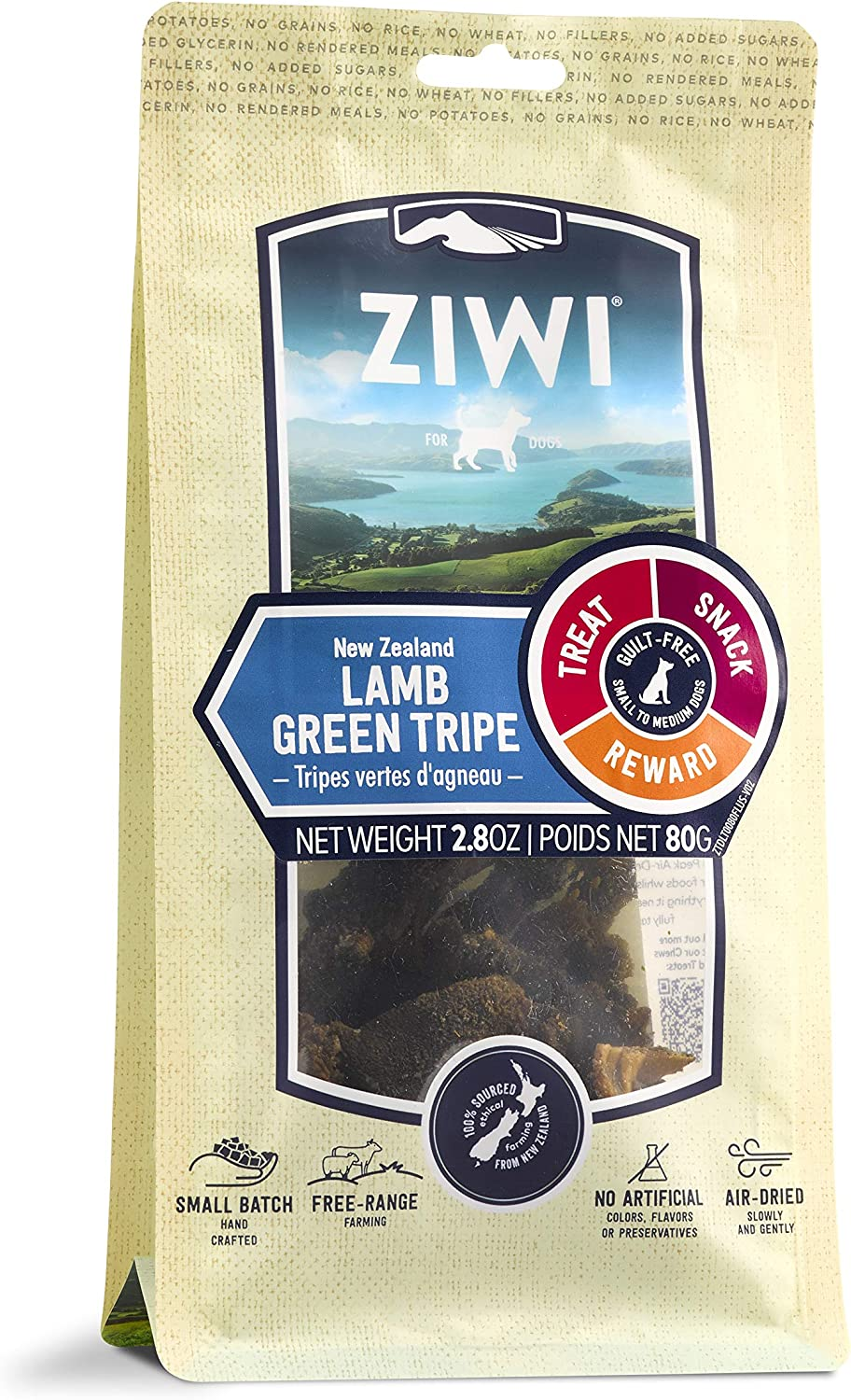 ZIWI All-Natural Air-Dried Dog Chews and Treats