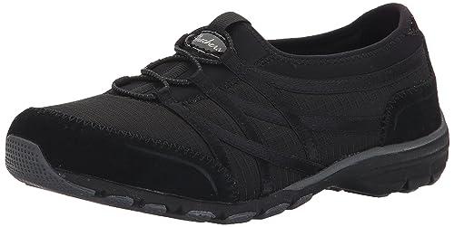 Skechers Sport Women's Conversations Charming Fashion Sneaker, Black, ...