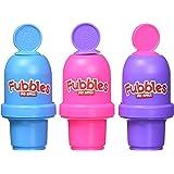 Little Kids Fubbles No Spill Bubble Tumbler Mini 3 Pack Party Favor Set, Includes 2oz of bubble solution and a wand per…