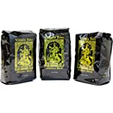 Valhalla Java Whole Bean Coffee Bundle Deal, Fair Trade and USDA Certified Organic, 3-Pack
