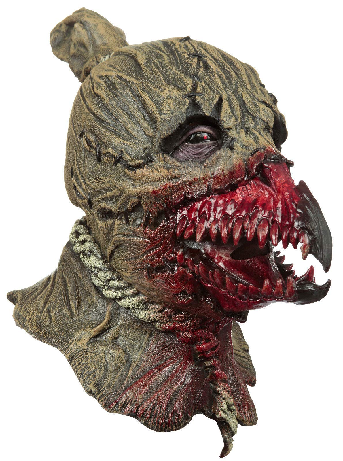 King Crows Scarecrow Latex Adult Full Over the Head Mask Halloween