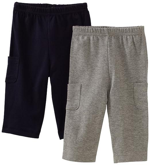 c67fe6315523 Amazon.com  Gerber Baby-Boys Newborn 2 Pack Pant