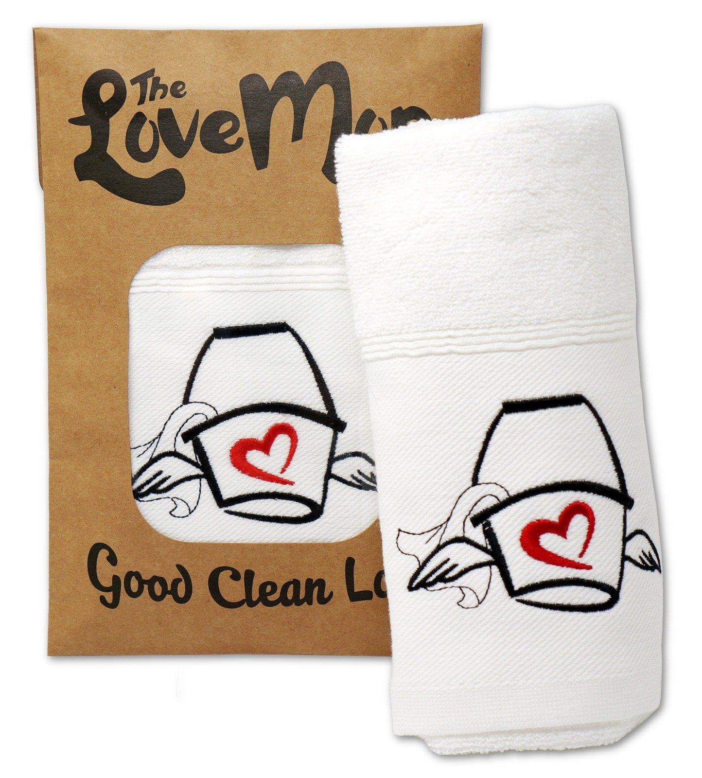 Love Mop, Premium Cotton Sex Towel, Bachelorette Gift, Wedding Shower, Couples, Bridal, Lingerie Party, Anniversary, Adult, Naughty, Sexy, for Her, for Him, Valentines, Wife, Husband, Sexual Wellness