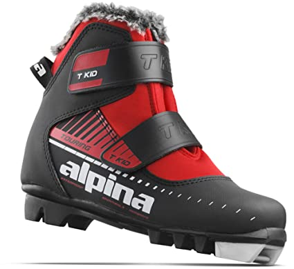 Amazoncom Alpina Sports Youth TKid Touring Cross Country Nordic - Alpina cross country ski boots
