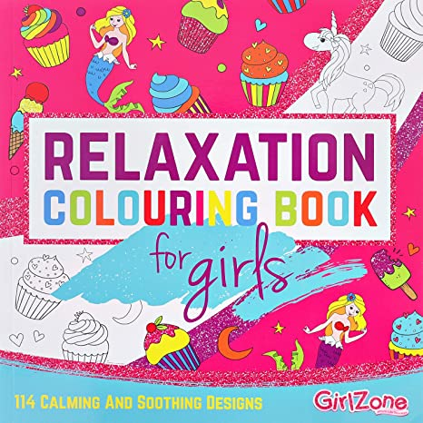 Coloriage Anniversaire Fille 11 Ans.Cadeau Fille Livre De Coloriage Zen Relaxation 114 Jolies Illustrations Coloriage Enfant Filles Livre Coloriage Enfants Antistress 4 A