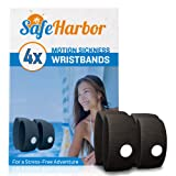 SafeHarbor Motion Sickness Wristbands | 4 Travel