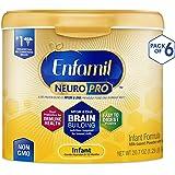 Enfamil 美赞臣 NeuroPro 1段 0-12个月 婴儿配方奶粉 587g/罐 6罐装