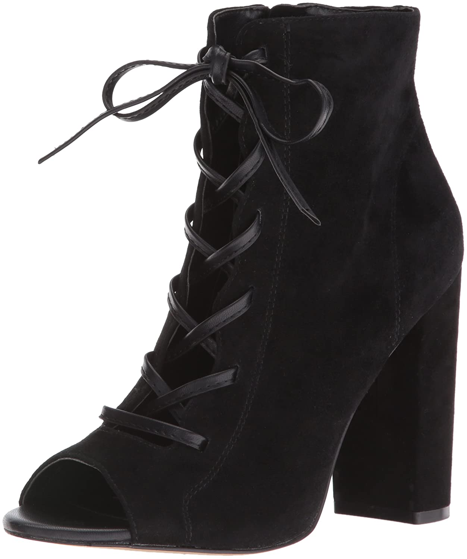 Sam Edelman Women's Yvie Ankle Bootie B01G6XKB9E 5.5 B(M) US|Black
