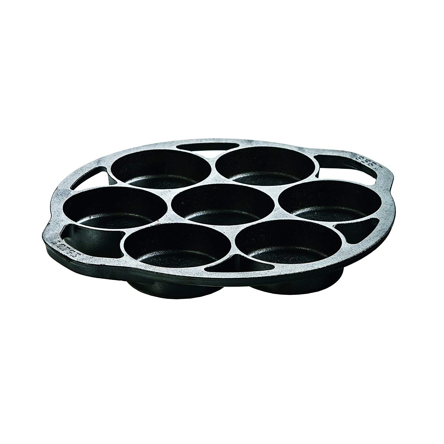Cast Iron Mini Cake Pan for this campfire dutch oven jalapeno cornbread camping recipe perfect for outdoor cooking and a side dish for your camping meals