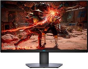 """DELL S3220DGF Monitor Piatto per PC 80 cm (31.5"""") 2560 x 1440 Pixel Quad HD LCD Curvo Nero"""