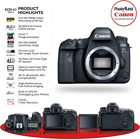 Canon Canon 6D Mark II -- product image 10