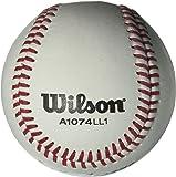 Wilson A1074 Little League Series Baseball (12-Pack), White