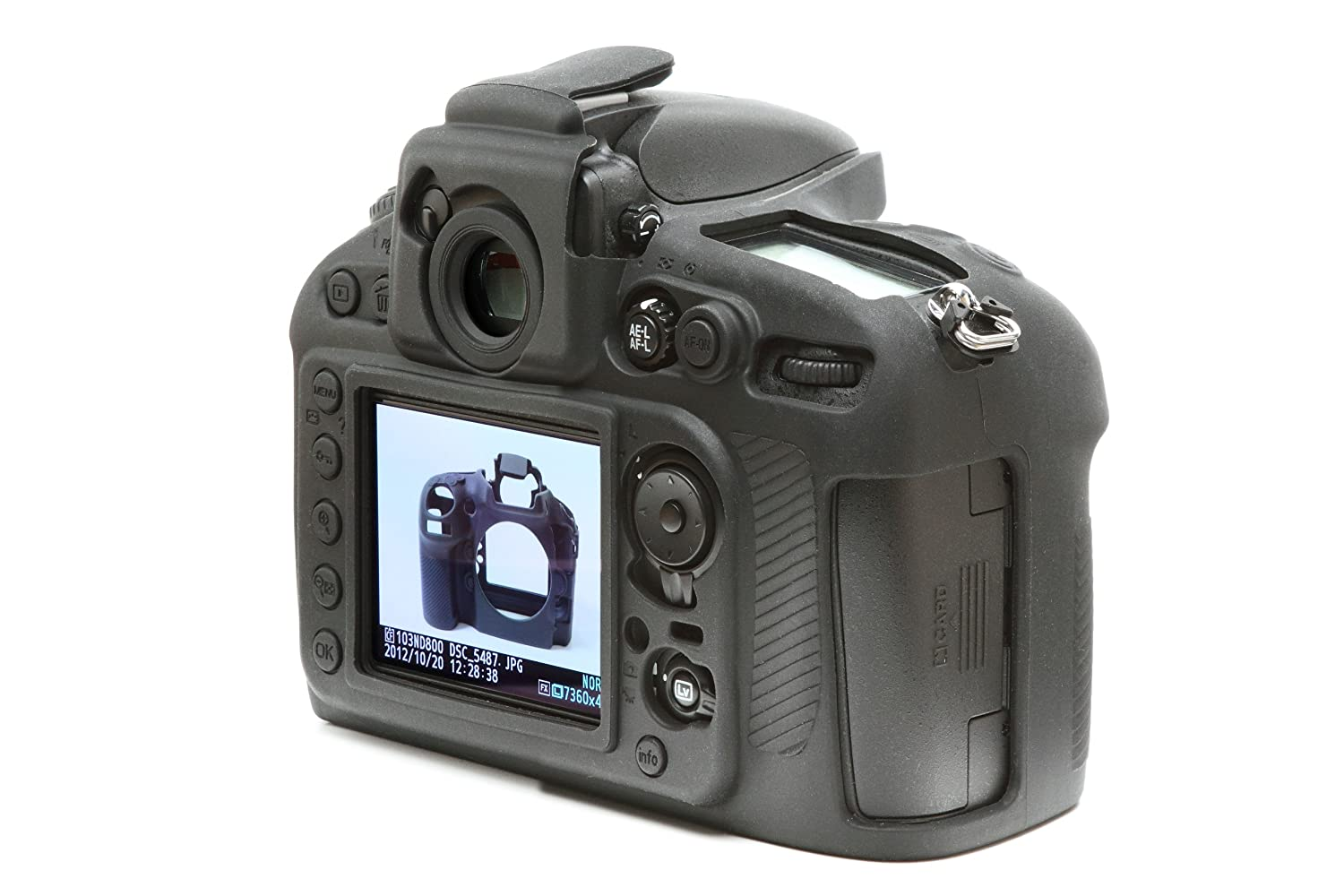 Easy Silicon Cover Case For Nikon D800 With Lcd Protect Imaging Products Parts And Controls D800e Film Black Electronics