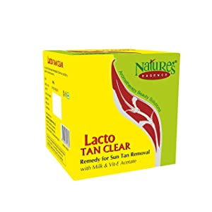 Nature's Essence Lacto Tan Clear 100Gm