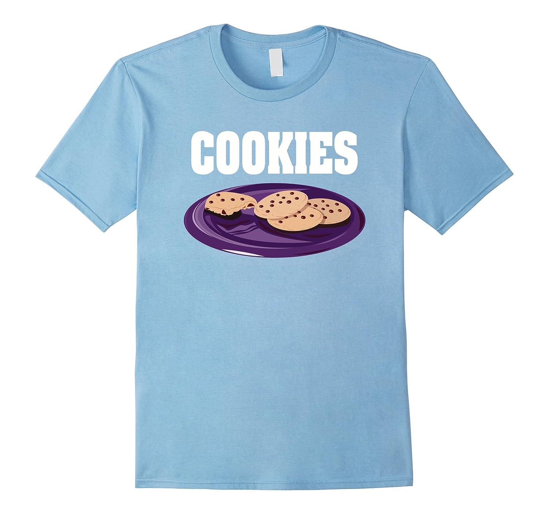Cookies Couples Halloween Costume T-shirt Milk & Cookies-FL