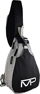 Universal Conceal Carry Sling Pack - Spitfire by Man-PACK As Seen On ABC Sharktank (Black/Grey)