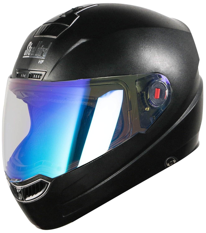 479ff060 AUTOTRUMP Steelbird SBA-1 Hands-Free Dashing Full Face Helmet with NIGHT  VISON Visor (Medium, Black): Amazon.in: Car & Motorbike