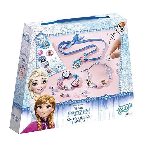 Totum - BJ680012 - Sparkles Jewels - Kit Créatif Bijoux - La Reine des Neiges Disney
