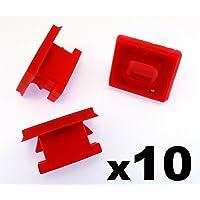 10x Remaches Plásticos - Salpicadero Molduras Rallas Ojal