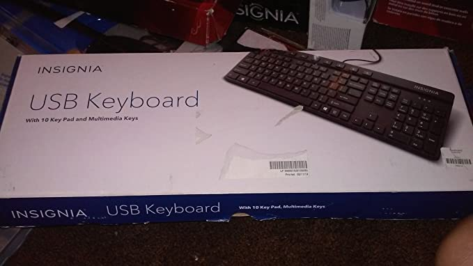 Insignia Black USB Keyboard