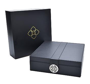 Amazoncom Elegant Womens Jewelry Organizer Box Modern Design
