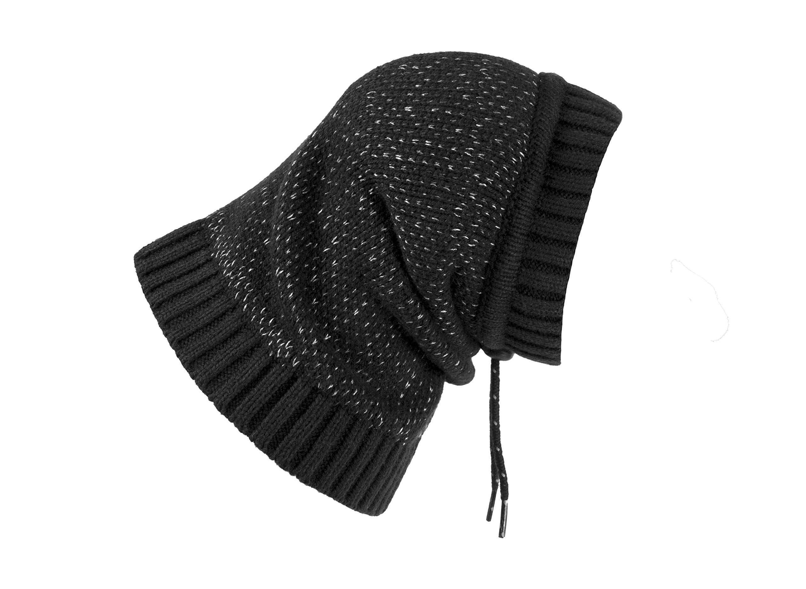 RC Pet Products 67005001 Polaris Snood Dog Neck Warmer, Black, Large by RC Pet Products
