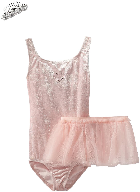 Danskin Little Girls ' Ballerina in aボックスPrimaレオタードセット B00CIIK070 ペタルピンク M