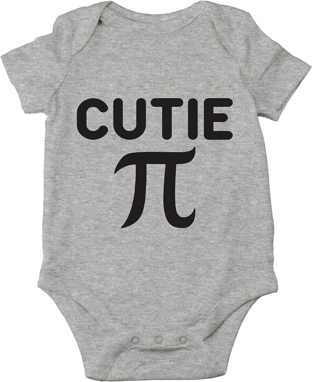 AW Fashion's Cutie Pie - Math Parody Cute Novelty Funny Infant One-piece Baby Bodysuit