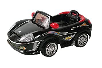 Awesome Best Ride On Cars 698R 6V Kids Convertible, Black