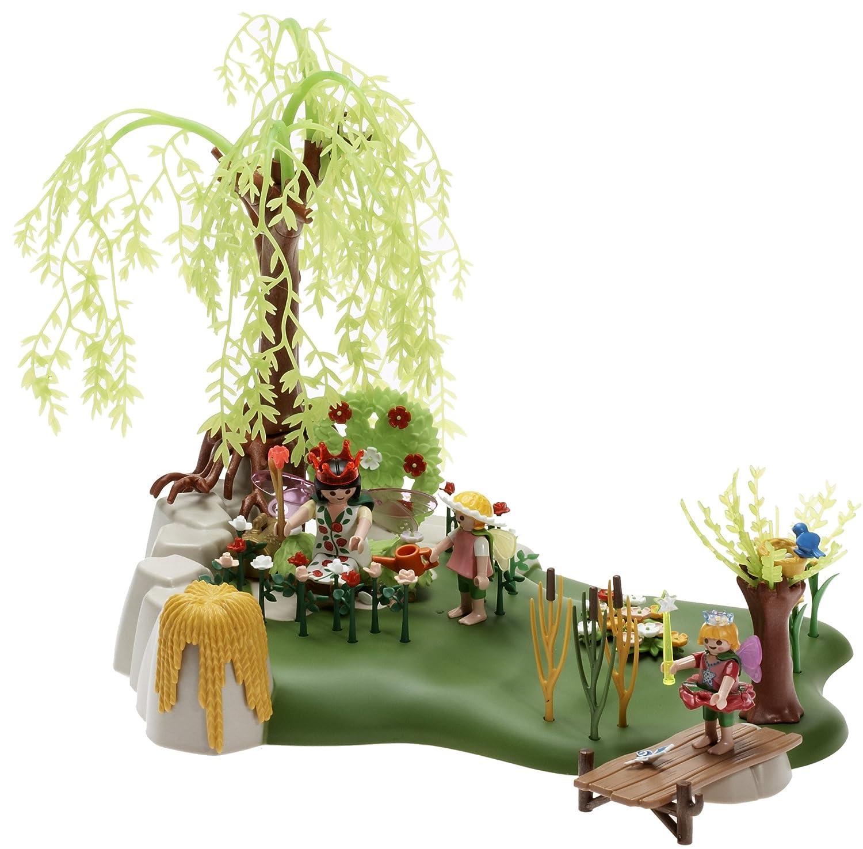Playmobil - 4199 - Reine Des Fees Et Jardin: Amazon.fr: Jeux et Jouets