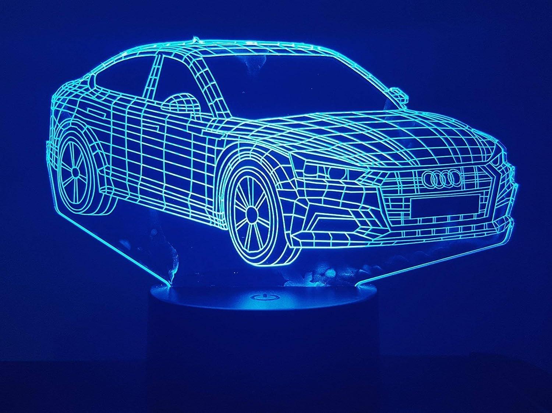 Audi A5, 3D-Lampe LED