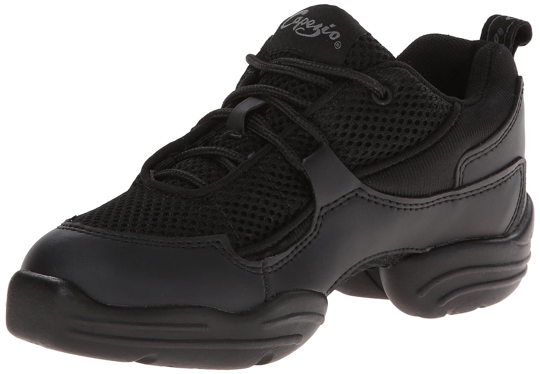 Capezio Women's DS11 Fierce Dance Sneaker、ブラック、7 M米国 B000E9FTPI