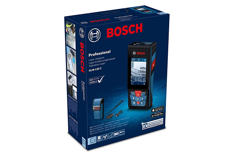 Bosch professional laser entfernungsmesser glm c messbereich